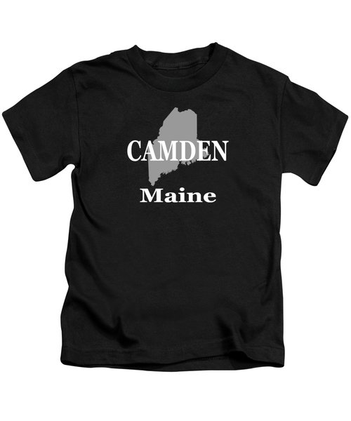 Camden Maine State City And Town Pride  Kids T-Shirt