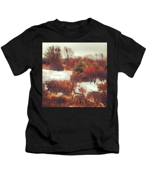 Came An Early Snow Kids T-Shirt