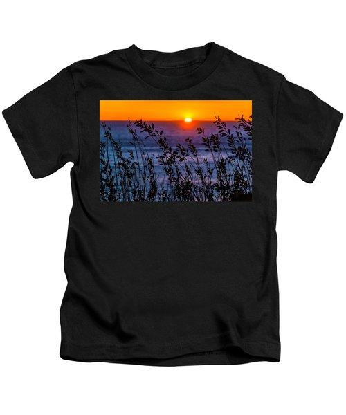 Calmness At Sunset Kids T-Shirt