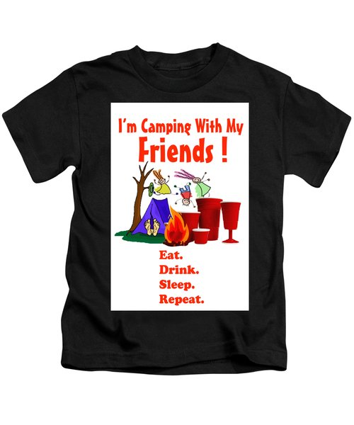Camping T Shirt Kids T-Shirt