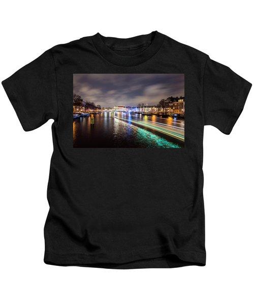 Canal Streaking Iv Kids T-Shirt