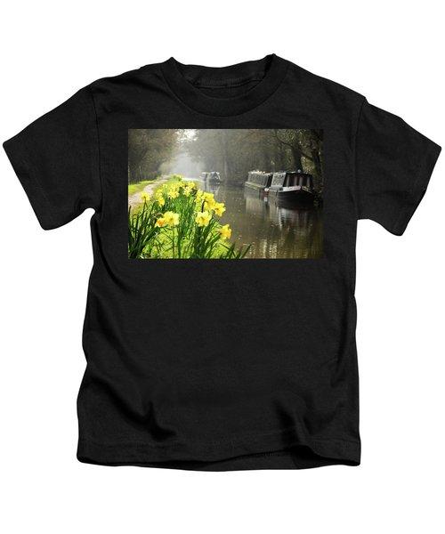 Canalside Daffodils Kids T-Shirt