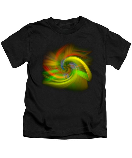 Candy Mountain Twirl Kids T-Shirt