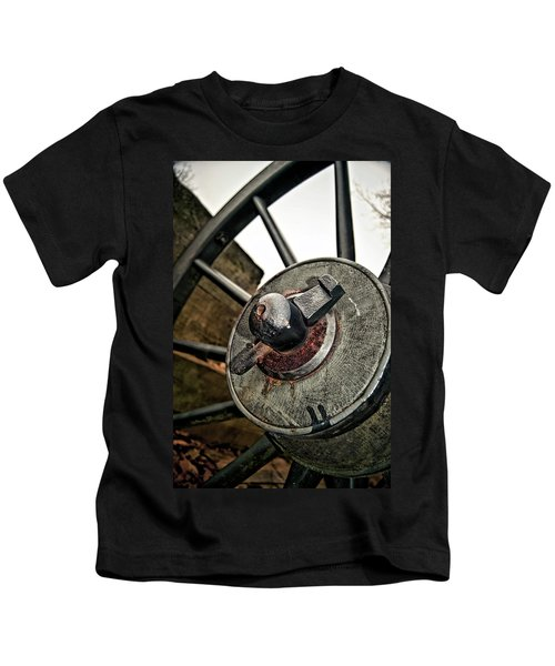 Cannon Wheel Kids T-Shirt