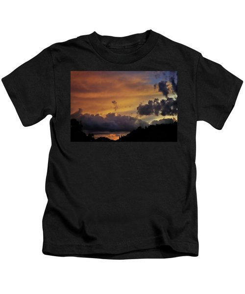 Canyon Sunset Kids T-Shirt