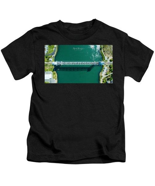 Cape Cod Canal Railroad Bridge Kids T-Shirt