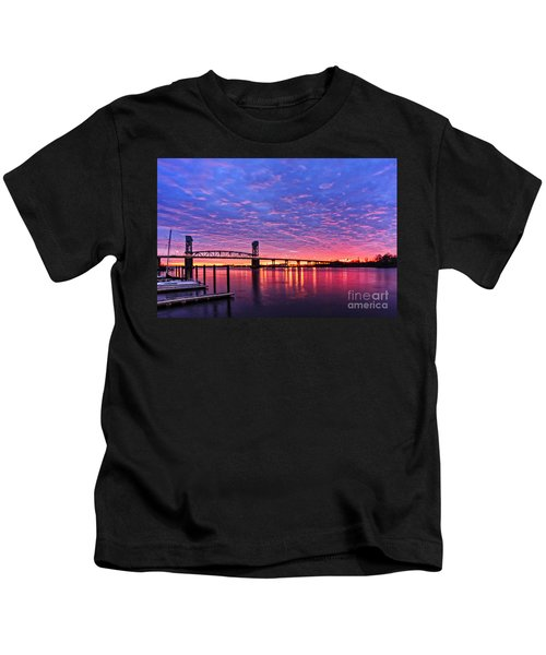 Cape Fear Bridge1 Kids T-Shirt