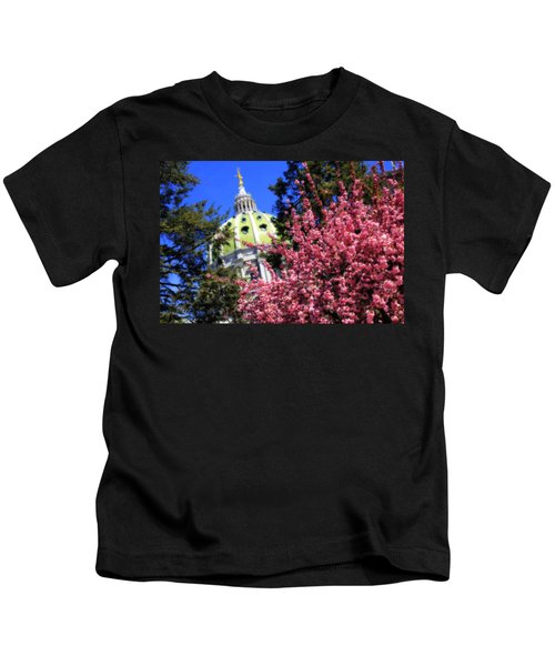 Capitol In Bloom Kids T-Shirt