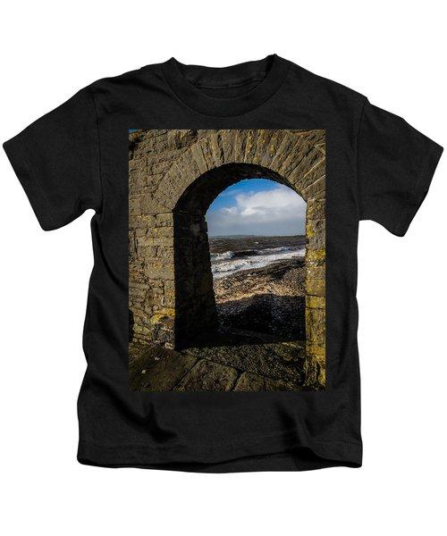 Cappagh Pier And Ireland's Shannon Estuary Kids T-Shirt