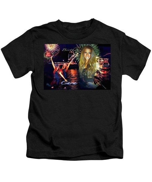 Cara Earth Angels Birthday Kids T-Shirt