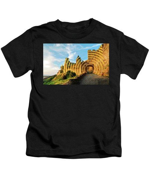 Carcassonne's Citadel, France Kids T-Shirt