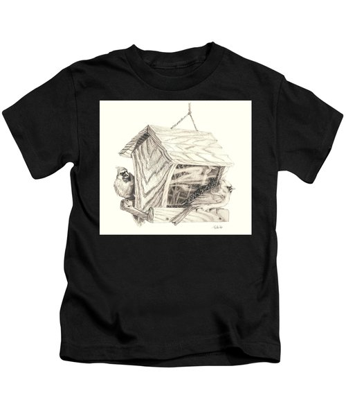 Cardinal Feeder Kids T-Shirt