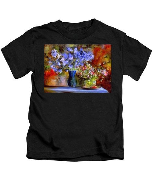 Caress Of Spring - Impressionism Kids T-Shirt
