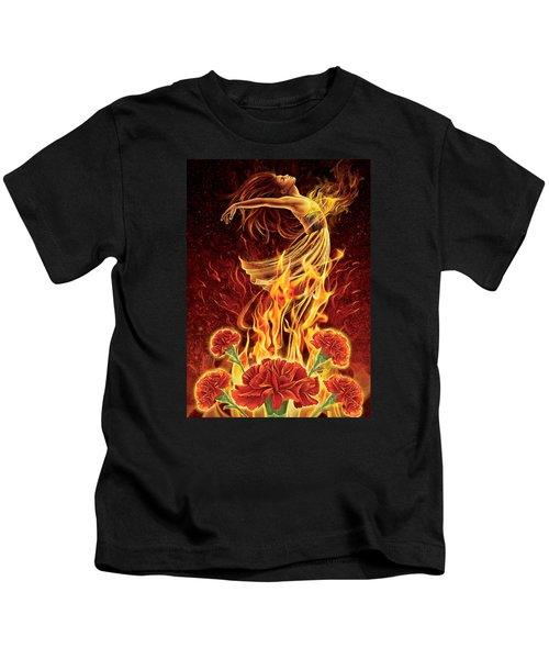 Carnation - Rebirth Kids T-Shirt