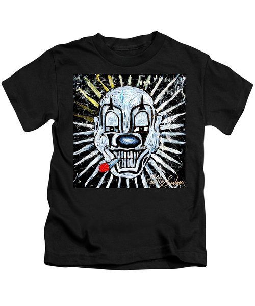 Carnival Clown Kids T-Shirt