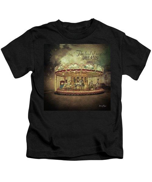 Carousel Dreams Kids T-Shirt
