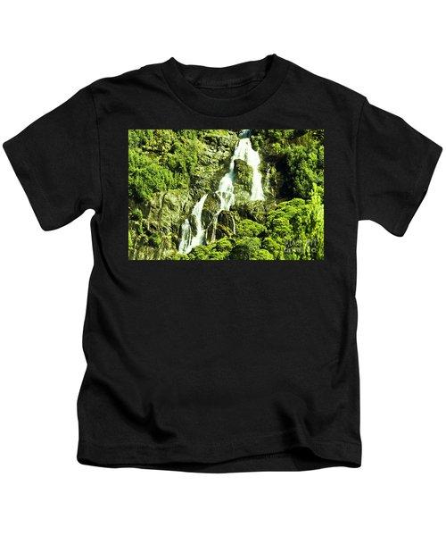 Cascading Falls Kids T-Shirt