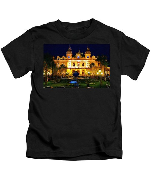 Casino Monte Carlo Kids T-Shirt