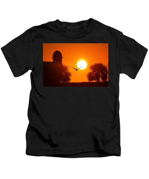 Castillio De San Marcos Kids T-Shirt