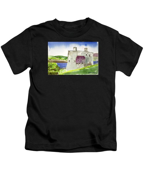 Castle From The Hill Kids T-Shirt
