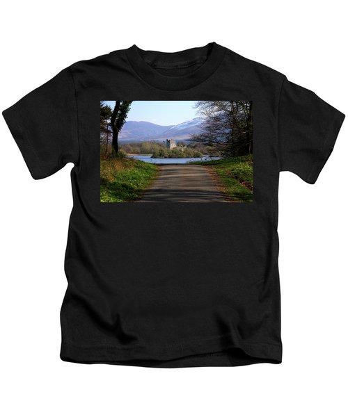 Castle On The Lakes Kids T-Shirt