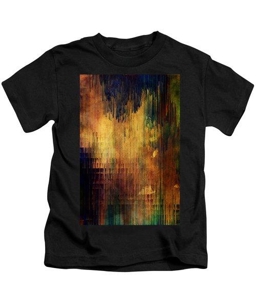 Castle View Planet Pixel Kids T-Shirt