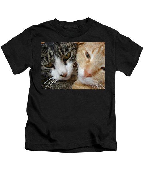 Cat Faces Kids T-Shirt