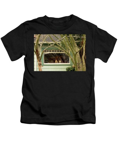 Cat Pals Waiting Kids T-Shirt