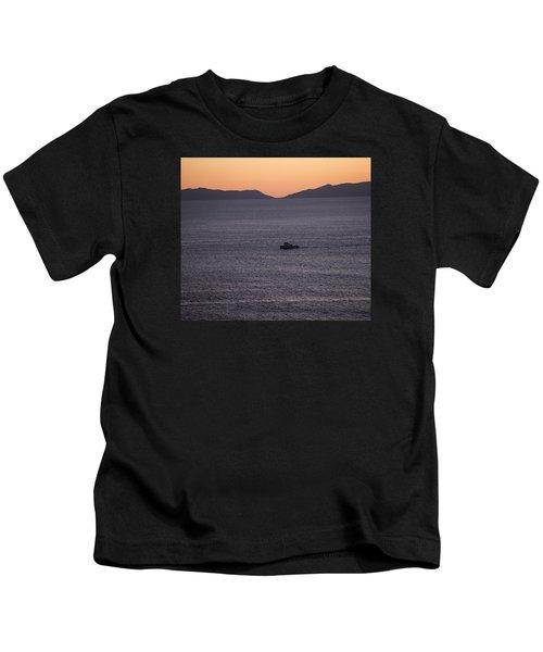 Catalina Orange Kids T-Shirt