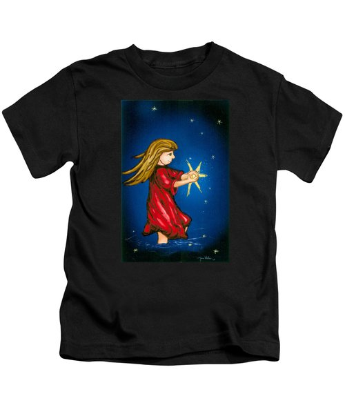 Catching Moonbeams Kids T-Shirt
