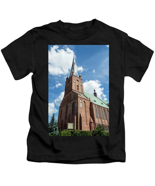 Cathedral Basilica Of St. James The Apostle, Szczecin A Kids T-Shirt