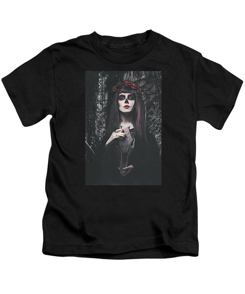 Catrina Day Of The Dead Kids T-Shirt