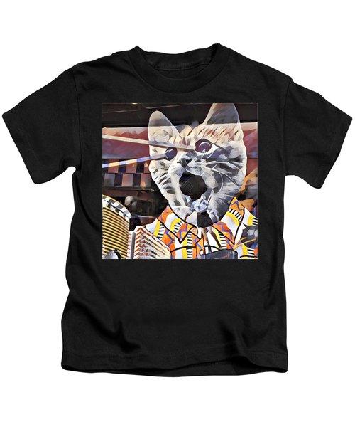 Cats On Congress Kids T-Shirt