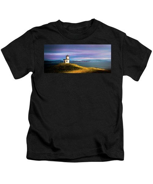 Cattle Point Lighthouse Kids T-Shirt