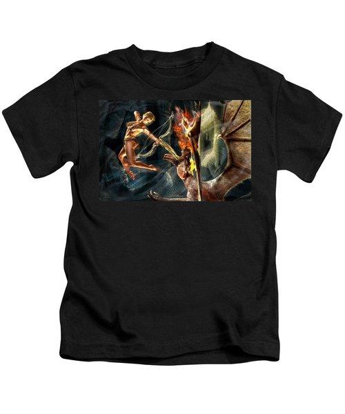 Caverns Of Light Kids T-Shirt