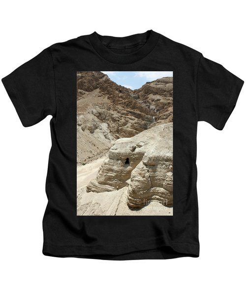Caves Of The Dead Sea Scrolls Kids T-Shirt