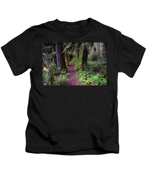 Cedar Creek Trail #3 Kids T-Shirt