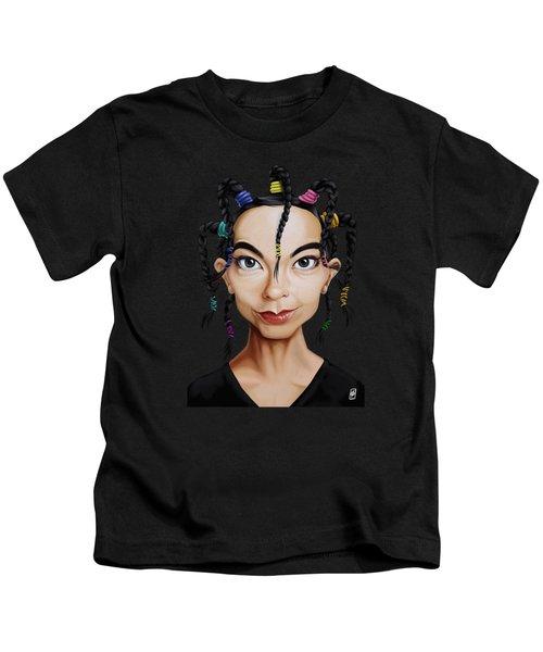 Celebrity Sunday - Bjork Kids T-Shirt