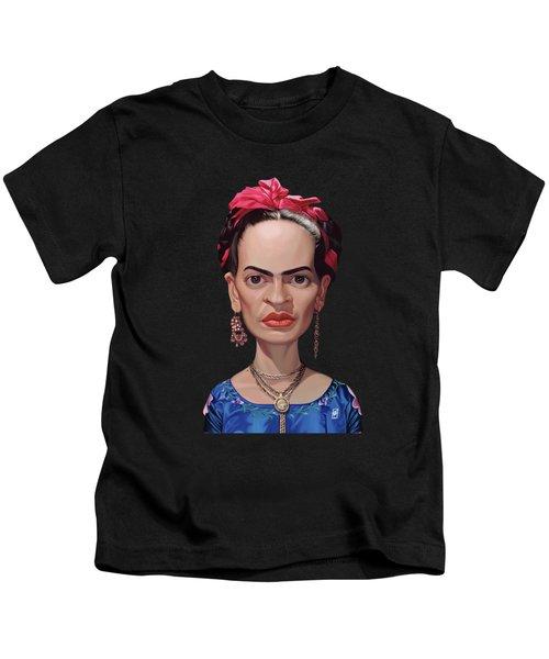 Celebrity Sunday - Frida Kahlo Kids T-Shirt