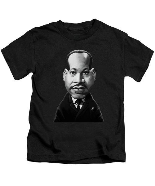 Celebrity Sunday - Martin Luther King Kids T-Shirt