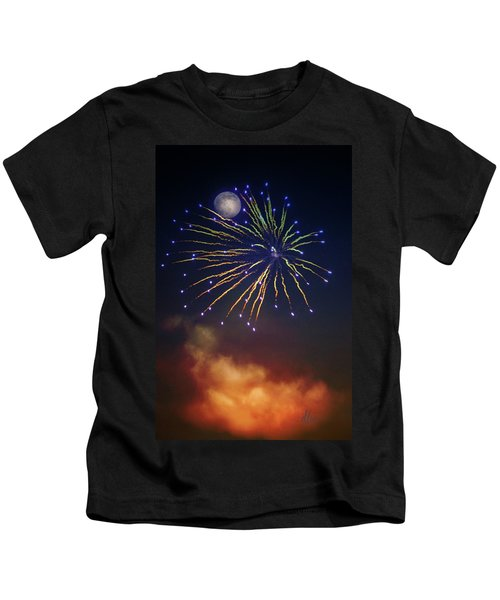 Celestial Celebration  Kids T-Shirt