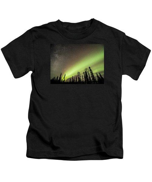 Celestial Collision Kids T-Shirt