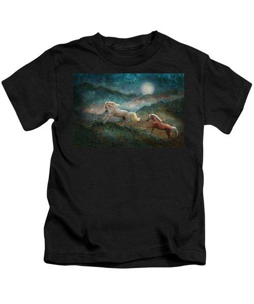 Celestial Stallions Kids T-Shirt