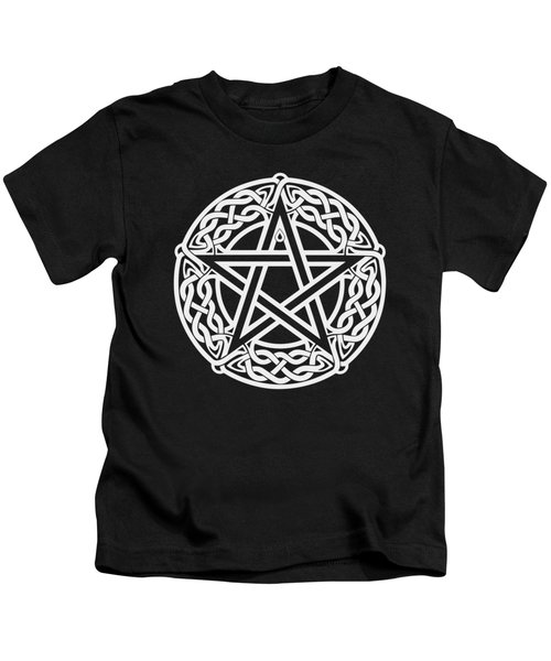 Celtic Pentagram Kids T-Shirt