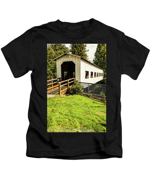 Centennial Bridge Kids T-Shirt