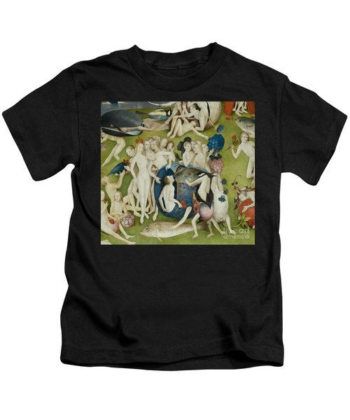 Central Panel  The Garden Of Earthly Delights, Detail Kids T-Shirt