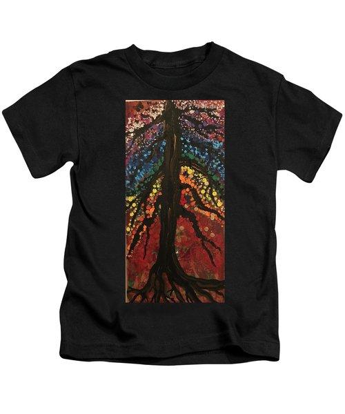 Chakra Tree Kids T-Shirt