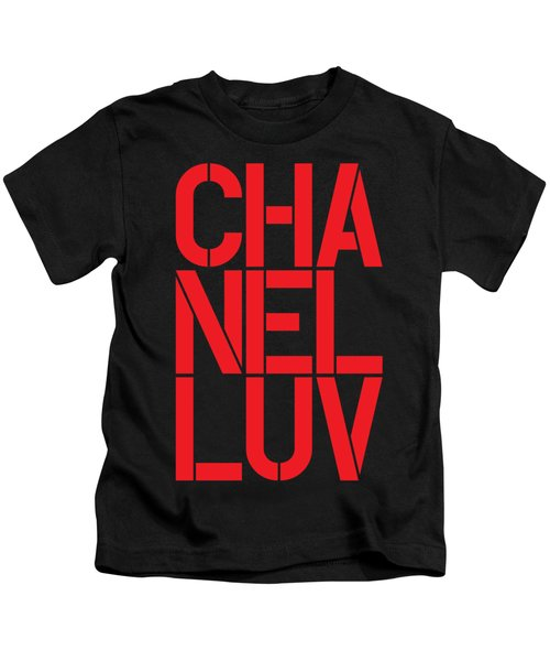 Chanel Luv-3 Kids T-Shirt