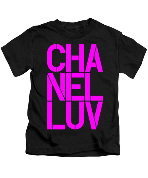 Chanel Luv-4 Kids T-Shirt