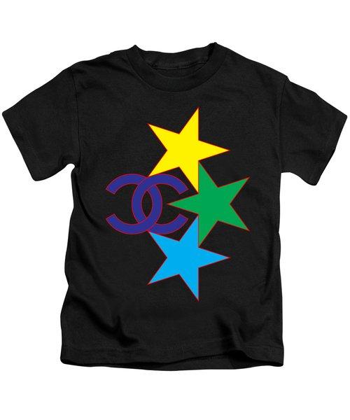 Chanel Stars-1 Kids T-Shirt